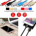 Lot USB Type C Data Charger Charging Cable Cord for Samsung Galaxy S8/Plus LG G6