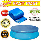 8/10/12Ft  SWIMMING POOL COVER Round Family Paddling Fast Set Garden Pools cheap
