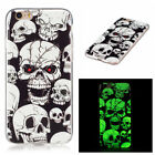Painted Silicone Skin Soft TPU Case Fluorescence Cover For Apple iPhone 6/6S