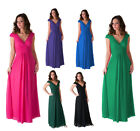 Formal Dress Elegant Women Long Evening Gown Bridesmaid Wedding Party Prom