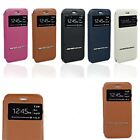 Smart Slim Touch Window Stand Terse Flip Leather Cover Case for iPhone 6 /6 Plus