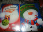 CHRISTMAS CARD IT YOUR FIRST CHRISTMAS SANTA SNOWMAN 1ST