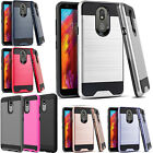 For LG Grace LTE Hard Gel Rubber KICKSTAND Case Protector Cover +Screen Guard