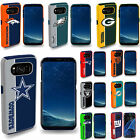 Samsung Galaxy S8 / S8 Plus Fan Case Official NFL Impact Armor Shock Proof Cover