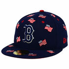 Boston Red Sox MLB July 4th Independence Day America USA Flag Nation Hat Cap Lid on Ebay