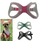Pet Small Teacup Dog Harness Soft Vest Puppy Collar chihuahua yorkie S/M/L