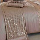 Kylie Minogue At Home Kylie Minogue Gold 'Misha' Bed Linen Super King  Duvet Cov