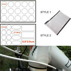 15Pcs Bicycle Bike Anti Scratch Frame Protector Sheet Transparent Stickers New