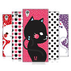 HEAD CASE DESIGNS CATS AND DOTS HARD BACK CASE FOR SONY XPERIA L1