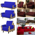 New Slipcover Mrcro Suede Pet Dog Couch Sofa Love Seat/Chair/Recliner/Cover US