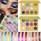 12 Colors Glitter Shimmer Eyeshadow Eye Shadow Palette Eyes Face Makeup Cosmetic