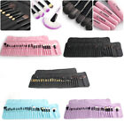 32tlg Professionelle Makeup Pinsel Set Brushes kosmetik Tasche Augenbraue Pinsel