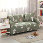 1/2/3 Seater Elastic Stretch Sofa Covers Chair Cover Couch Slipcovers Pillowcase