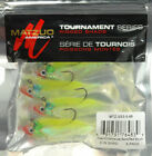 "MATZUO LIVEWIRE PRE RIGGED 3"" SWIMBAIT LURE SHAD SS3-5 / 5PK"