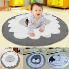 Cartoon Soft Cotton Baby Kids Game Gym Activity Play Mat Crawling Blanket Floor