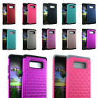 Samsung Galaxy Note 8 Case Diamond Bling Shiny Hard & Soft Rubber Impact Cover