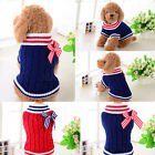 Внешний вид - Knit Pet Cat Puppy Clothes Small Pet Dog Warm Windproof Clothes Knitted Sweater