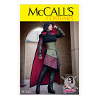 McCall's 7645 Sewing Pattern to MAKE Miss Cosplay Dress Corset Hood Cape Gusset