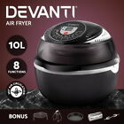 5-Star Chef 10L Air Fryer Oven Deep Cooker Frying Kitchen Healthy 6/8 Function
