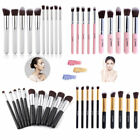 Kabuki 10PCS Makeup Brush Eyeshadow Eyeliner Foundation Blush Cosmetic Tool