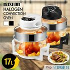 17L Halogen Oven Turbo Low Fat Roaster Convection Cooker Electric Air Fryer