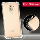 For Huawei P8 P9 Lite 2017 Shockproof 360° Clear Silicone Soft TPU Case Cover