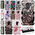 For Alcatel A30 Fierce IMPACT TUFF HYBRID Protector Case Skin Phone Covers