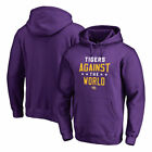 LSU Tigers Fanatics Branded Against The World Pullover Hoodie - Purple - NCAA
