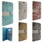 Samsung Galaxy Note 7 Premium Bling Diamond Wallet Case Flip Pouch Phone Cover
