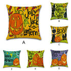 Halloween Party Home Sofa Decoration Throw Linen Car Pillow Case Cushion Cover