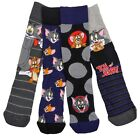 Adults Tom And Jerry Looney Tunes Socks Four Pack Adult Sizes 6-8.5 And 9-12