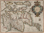 Renaissance Cartography: Map of Scotland of 1573 by Abraham Ortellius