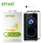 OTAO 9H Tempered Glass Screen Protector For Samsung Galaxy S7 edge S8/S8 Plus
