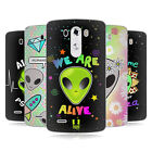 HEAD CASE DESIGNS ALIEN EMOJI SOFT GEL CASE FOR LG PHONES 1