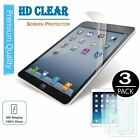 3x Anti-Glare LCD Screen Protector Film Cover For Apple iPad 2017 Air 1 2 Pro