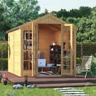 BillyOh Harper Tongue and Groove Double Door Garden Summerhouse Apex Roof