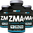 Pro Elite ZMA POWER MUSCLE GROWTH + STRENGTH TESTOSTERONE BOOSTER TEST 240 TABS