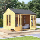 BillyOh Petra Tongue & Groove Garden Summerhouse Reverse Apex Roof & Felt