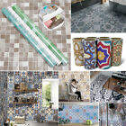 Various 3D Self Adhesive Wall Tile Sticker Decal DIY Bathroom Kitchen Home Decor