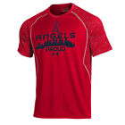 Los Angeles Angels Under Armour Apex Print  T-Shirt - Red