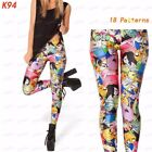 Yoga/Run/Gym Lifelike Elastane Skinny Pattern 3D Print Leggings Jeggings Present