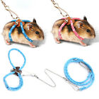 Small Animal Leash Rope For Hamster Mouse Squirrel Sugar Glider Harness Leash SM