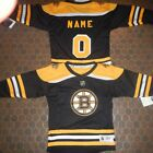 Boston Bruins Kids Size 4/7  NHL Hockey Jersey add  any name & number