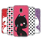 HEAD CASE DESIGNS CATS AND DOTS SOFT GEL CASE FOR SAMSUNG GALAXY J3 (2017)