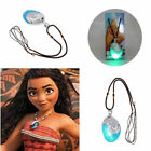 2017 Glowing Music Moana Princess Vaiana Necklace Cosplay Props Pendant Jewelry