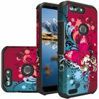 For ZTE Blade Z Max HARD Astronoot Hybrid Rubber Silicone Case Phone Cover