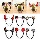 Halloween Party Head Hair Band Fancy Bat Hairband Cosplay Costume For Girl Women