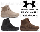 Under Armour 1250234 Mens UA Valsetz RTS Tactical Boots Running Shoes Sizes 8-14