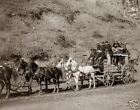 Old  West Photo Reprint, Deadwood Stage Print