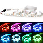 Waterproof 5050 RGB Multicolor Battery Powered Led Flexible Light Strip 1M 2M